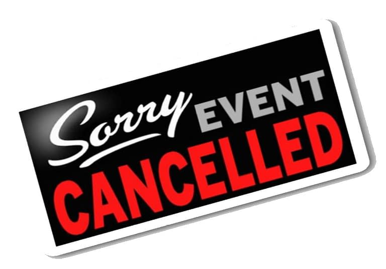 Service and Event Cancellations